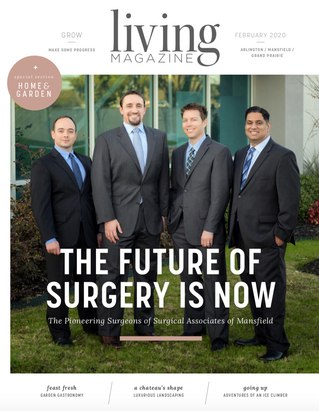 February Front Cover: Surgical Associates of Mansfield
