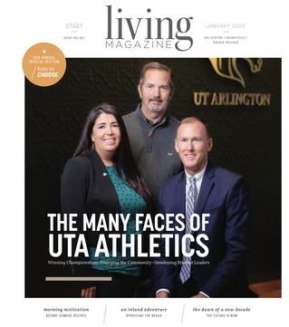 January Cover: UTA Athletics