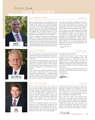 Letter From Our Mayors: June 2021