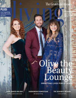 December Cover: Olive the Beauty Lounge