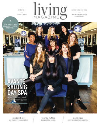 December Cover: Avante Salon & Day Spa