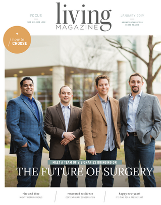 January Cover: Surgical Associates of Mansfield