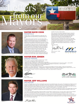 Letter From Our Mayors January