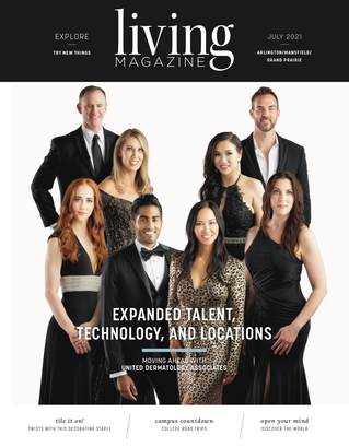 July 2021 Cover: United Dermatology Associates