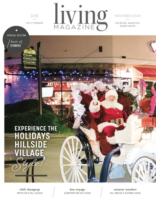 November Front Cover: Hillside Village