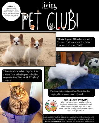 Living Pet Club July