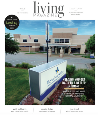 August Front Cover: Baylor Scott & White Orthopedic and Spine Hospital - Arlington