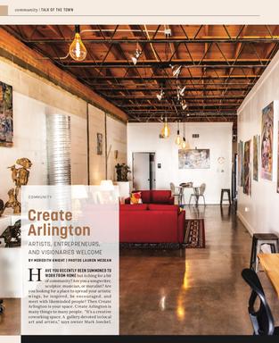 Talk Of The Town: Create Arlington