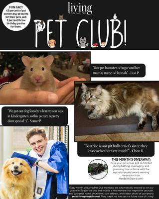 Living Pet Club June