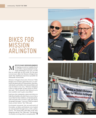 Talk Of The Town: Mission Arlington
