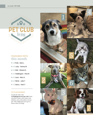 Living Pet Club: January