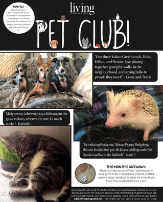 Living Pet Club September
