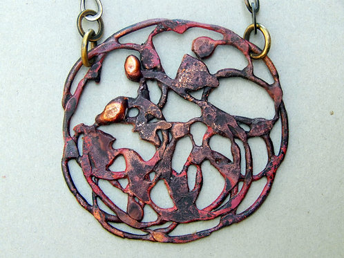 copper neckpiece