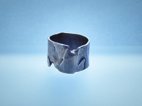 argentium sterling silver ring