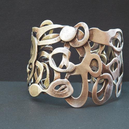 argentium sterling silver cuff