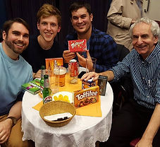 archway pub quiz theatre winners malteasers toffifee
