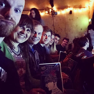 Dingbats Excursion to see Do Not Adjust Your Stage at The Vaults