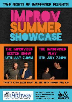 Improv Summer Showcase 2017.07.12