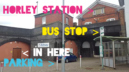 Horley Train Station Improv Workshop