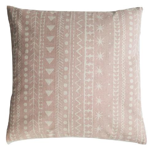 Maris Stripe, Shell Pink, 45 x 45 cm