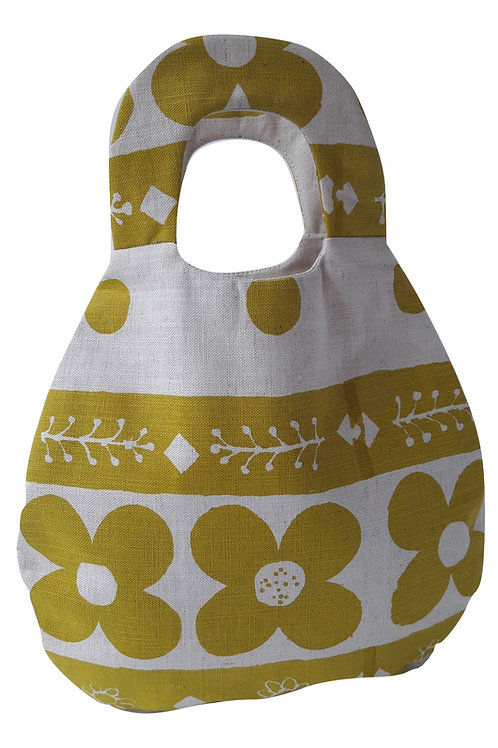 Belle Bag, Flora, Gorse Yellow