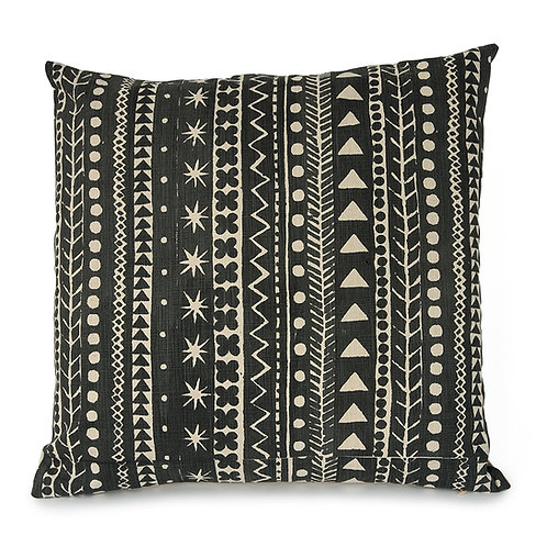 Maris Stripe, Soft Black, 45 x 45 cm
