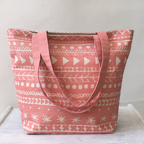 Maris Tote in Coral Pink - NEW!
