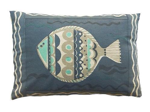 Large Fish, Blue, 60 x 40 cm