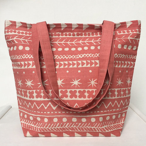 Maris Tote in Anemone Red