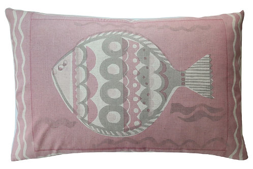 Large Fish, Shell Pink, 60 x 40 cm