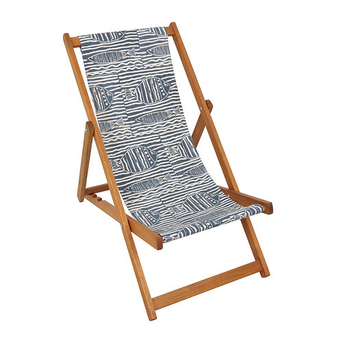 Deck Chair - Fish Stripe