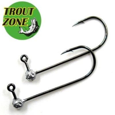 Джиг-головки Trout Zone Kumho #2 Silver (5шт/уп)