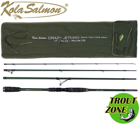 Спиннинг Kola Salomon Crazy Jetman 8'8''/4 Trout Zone Edition 2.64m max 42gr