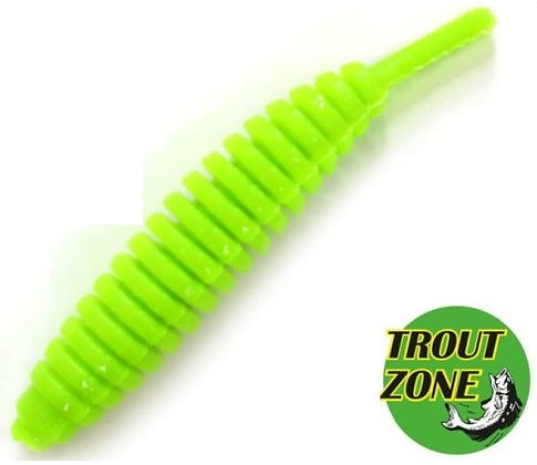 "Мягкие приманки Trout Zone Ribber Pupa 2.3"" (7шт/уп)"