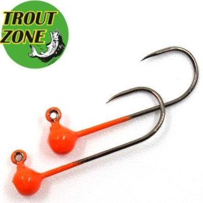 Джиг-головки Trout Zone Kumho BL #2 Orange (5шт/уп)