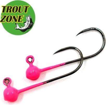 Джиг-головки Trout Zone Kumho BL #4 Pink (5шт/уп)