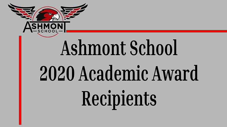 Academic Awards 2020