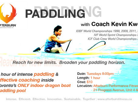 Break Outside Your Comfort Zone with our Paddling Clinics