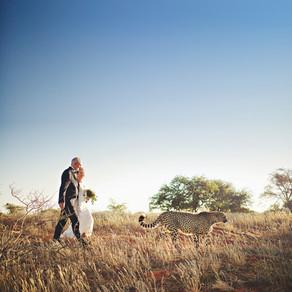 Wedding Namibia Bagatelle Kalahari Game Ranch