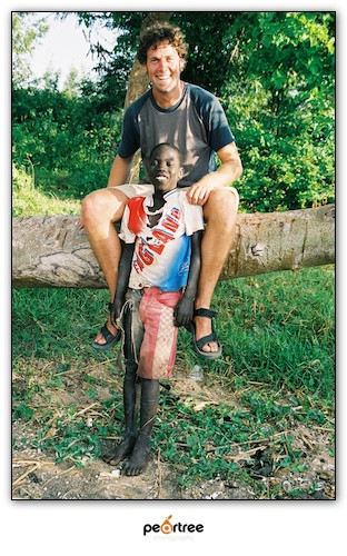 Joseph Ouma - whom I've sponsored the past few years (Click photo to also get involved)