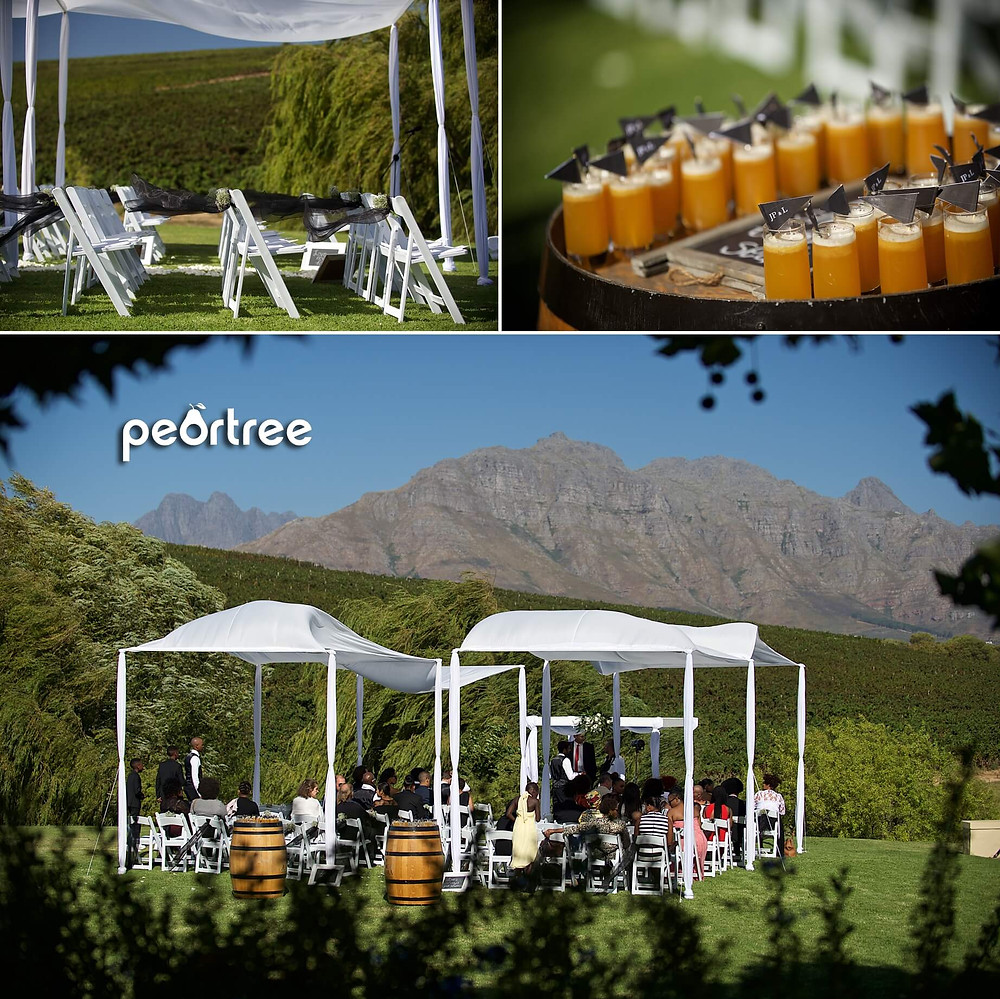 asara wine estate hotel wedding