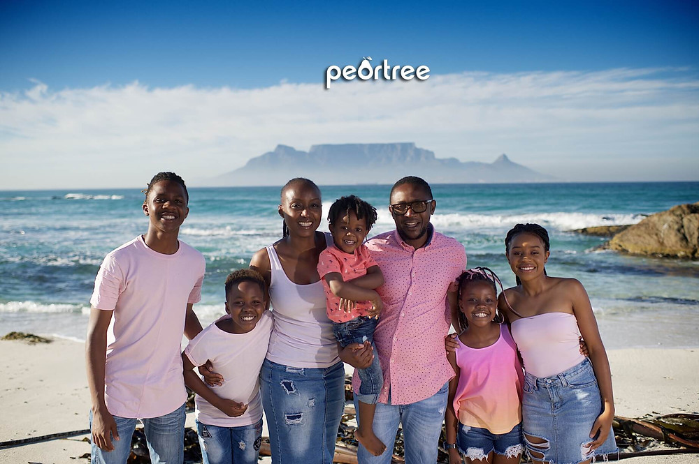Cape Town Family Photographer Beach