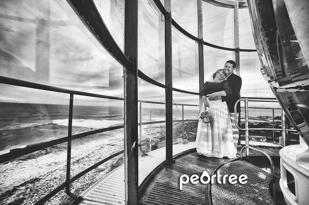 lighthouse wedding slangkop kommetjie