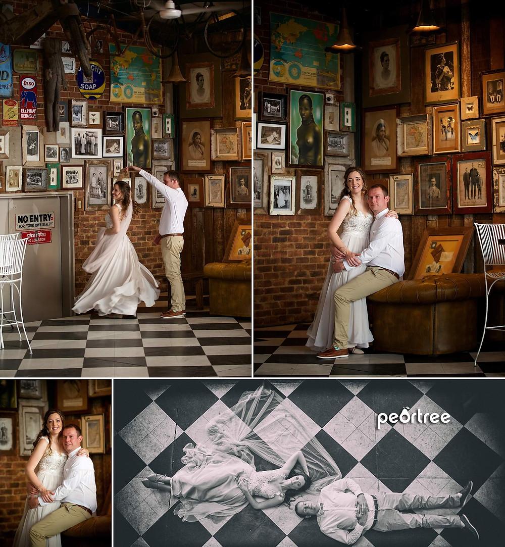 johannesburg wedding katys palace bar