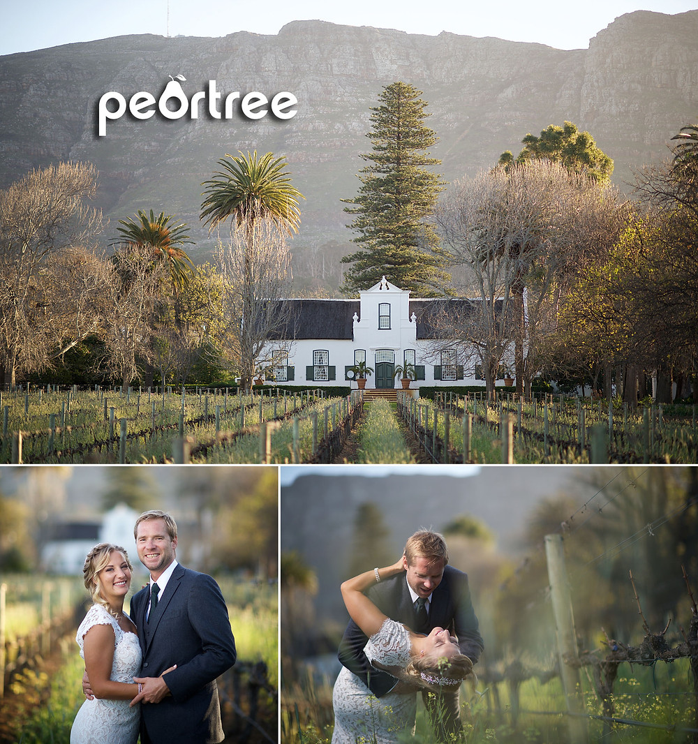 buitenverwachting wedding cape town
