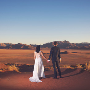 Chris & Sophie | Wolwedans, Namibia