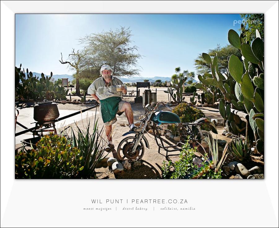 Moose McGregor Desert Bakery Solitaire Namibia