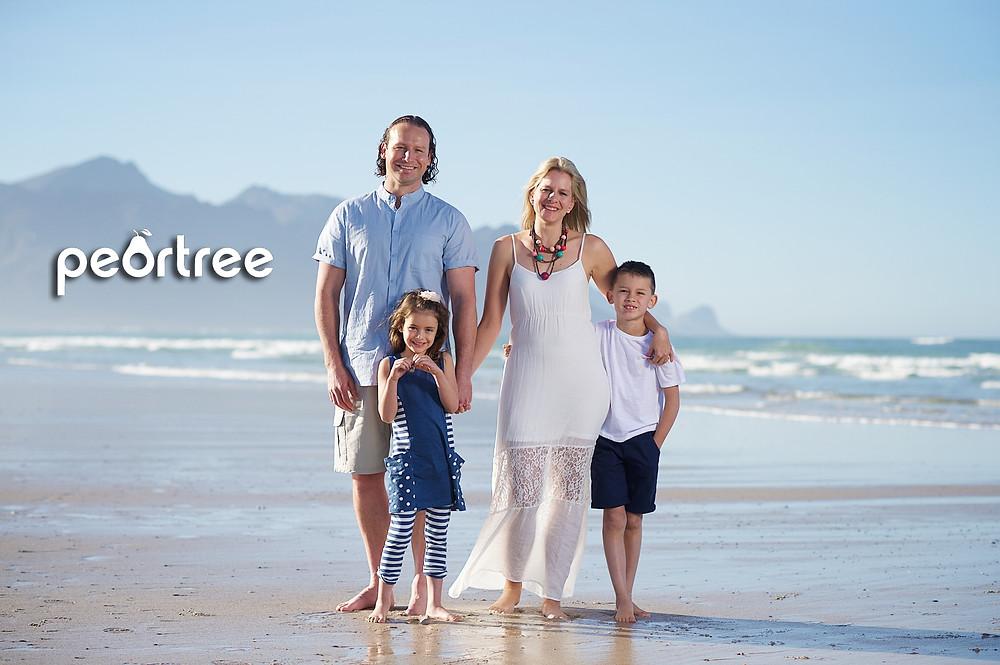 summer family shoot strand