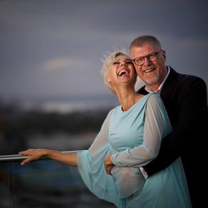 Author Deon Meyer Wedding