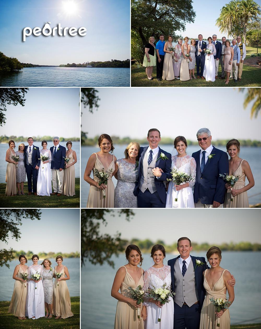 Victoria Falls Wedding Photos